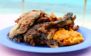 Jerk chicken - Caribbean food - Providenciales, Turks & Caicos Islands | Kiterr.com