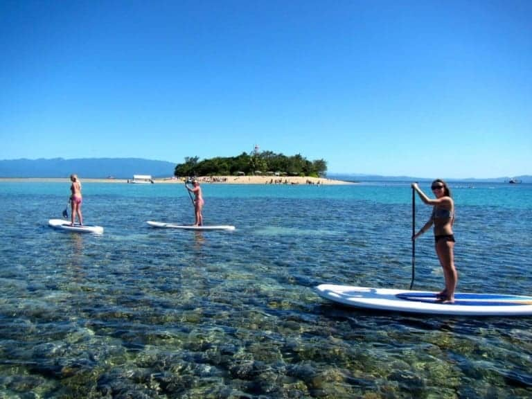 Windswell Kitesurfing - kitesurfing school, lessons, reef tours & stand-up paddle, Port Douglas, Queensland, Australia // Kiterr.com