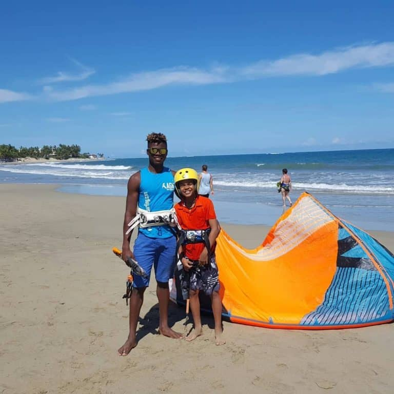 AGK Kite School in Cabarete, Dominican Republic