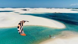 The best kitesurfing spots in Brazil - Atins & East Coast - photo @robsonolifer // Kiterr.com