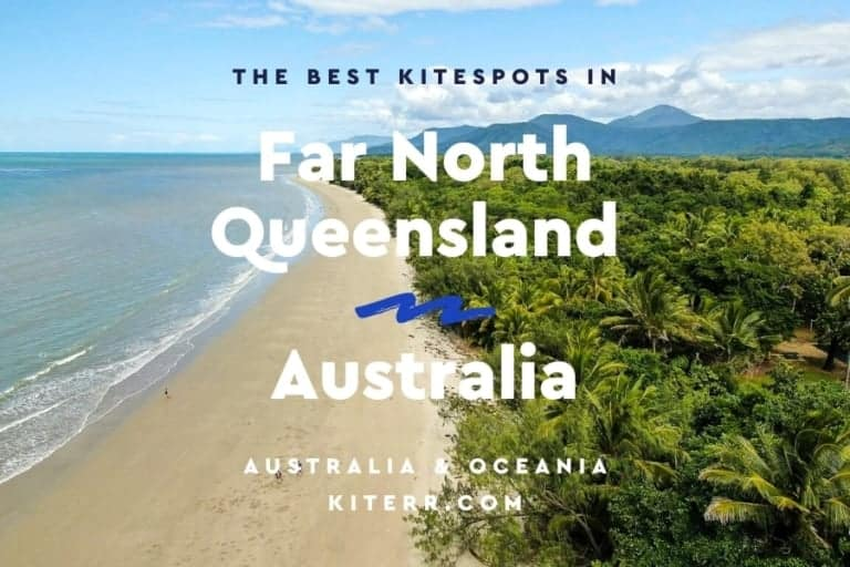 Kitesurfing in Port Douglas & Far North Queensland - kitesurfing spot guide // Kiterr.com