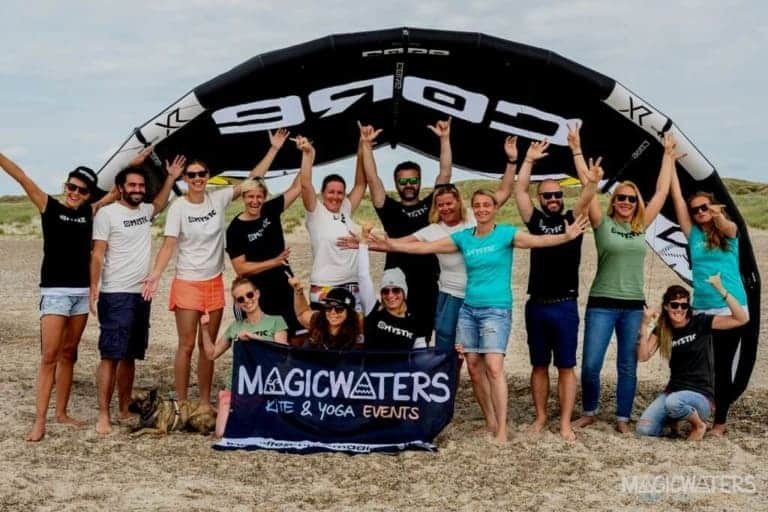 MagicWaters Kite & Yoga Events - Kitesurf camp with yoga in Ringkøbing Fjord, Denmark // Kiterr.com