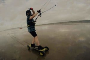 Landboarding & Kite buggy in Westward Ho! & North of Devon, UK // Kiterr.com