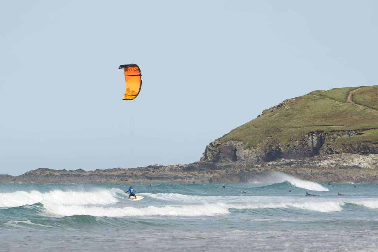 Kiteboarding in Westward Ho! & North of Devon, UK // Kiterr.com