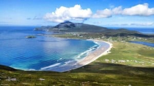 Kiteboarding on Achill Island, Ireland - photo Pure Magic // Kiterr.com