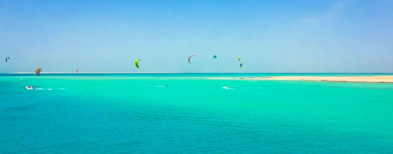 Kite safari with Sick Dog Surf - Red Sea, Egypt // Kiterr.com
