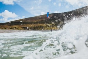 Kiteboarding on Achill Island, Ireland - photo David Sciora // Kiterr.com