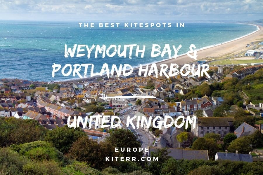 A guide to the best kiteboarding spots in Weymouth Bay & Portland Harbour, United Kingdom // Kiterr.com