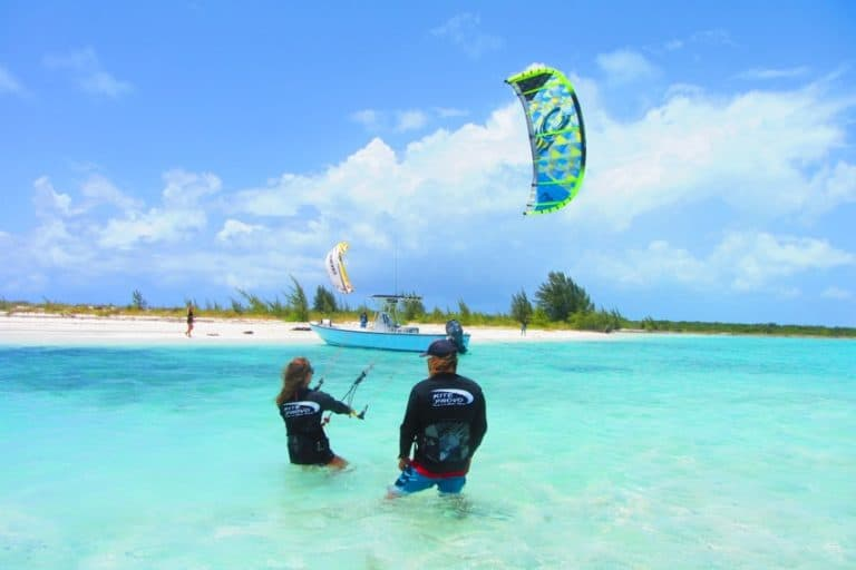 Kite Provo Kiteboarding School in Providenciales, Turks and Caicos // Kiterrcom