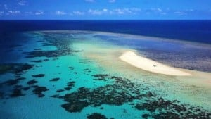 Undine Coral Cay - Kitesurfing in Far North Queensland, Australia // Kiterr.com