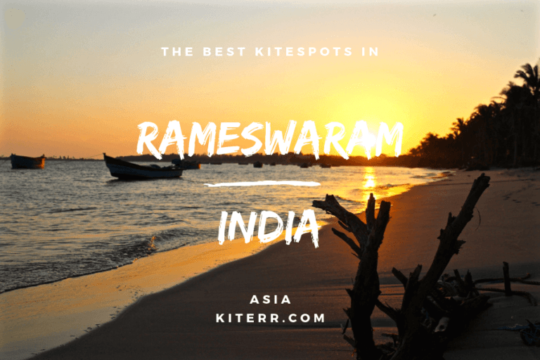 Kitesurfing in Rameswaram, India - Spot guide & Map // Kiterr.com