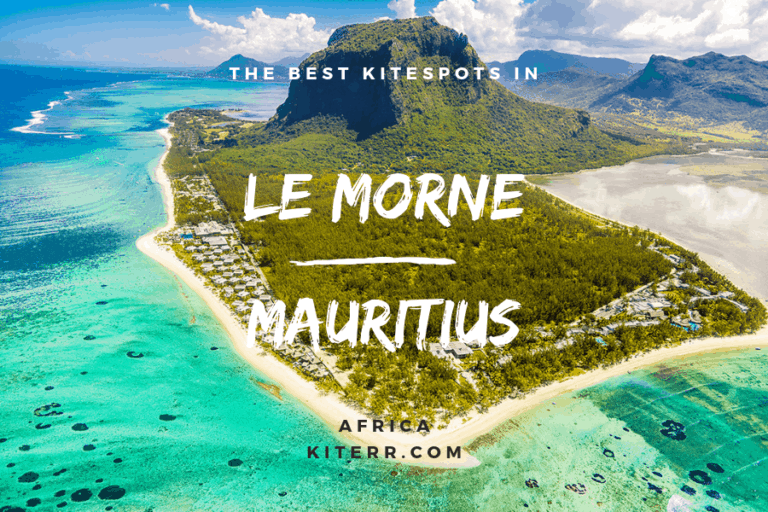 The best kiteboarding spots in Le Morne, Mauritius - Guide & Map // Kiterr.com