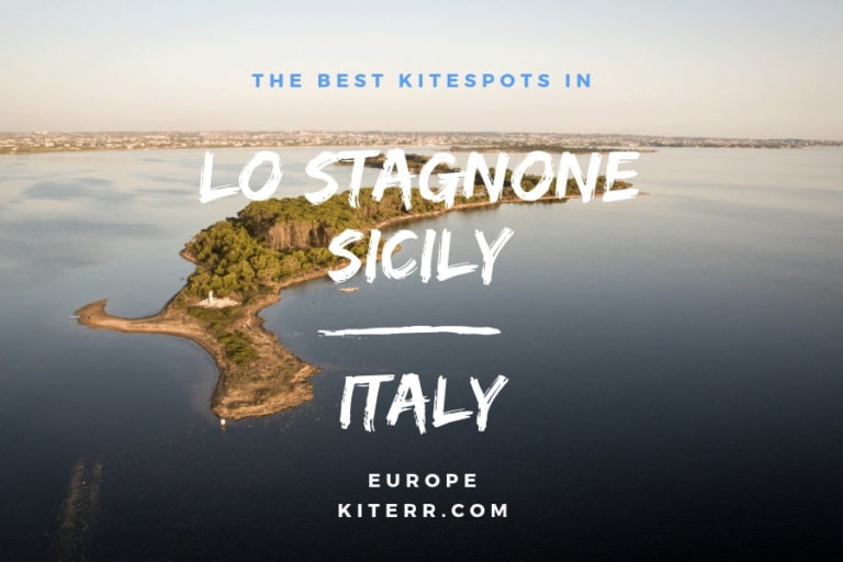 The best kiteboarding spots in Lo Stagnone, Sicily, Italy - Guide & Map // Kiterr.com